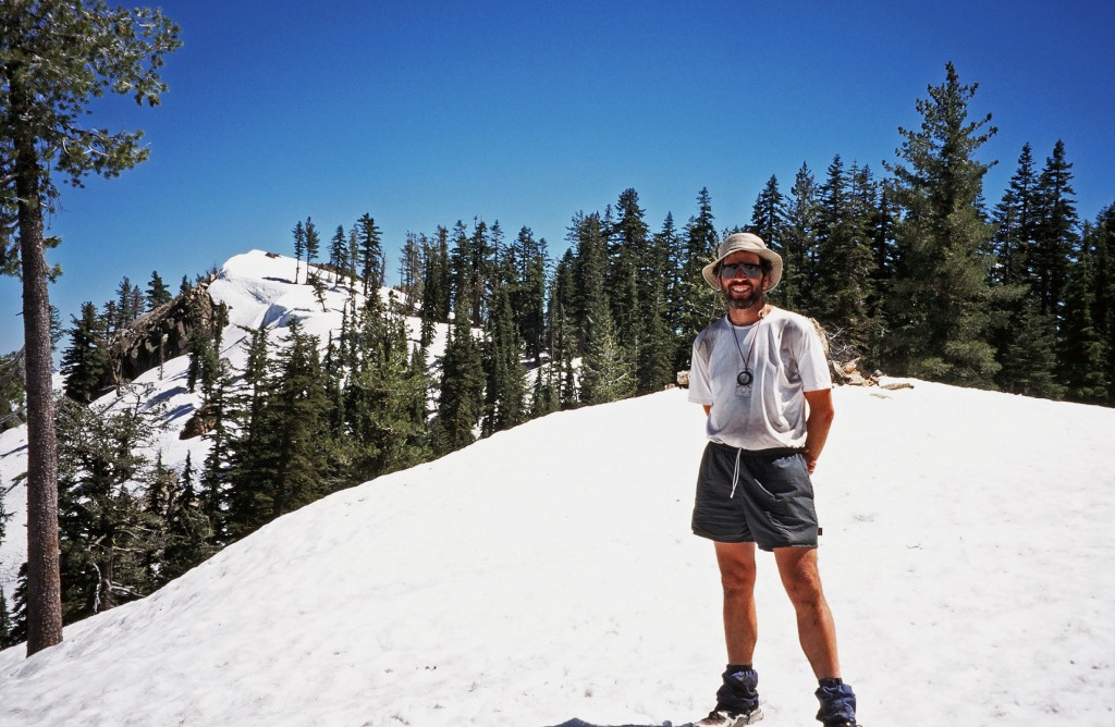 On the PCT in the Sierra Buttes, July 5, 1995